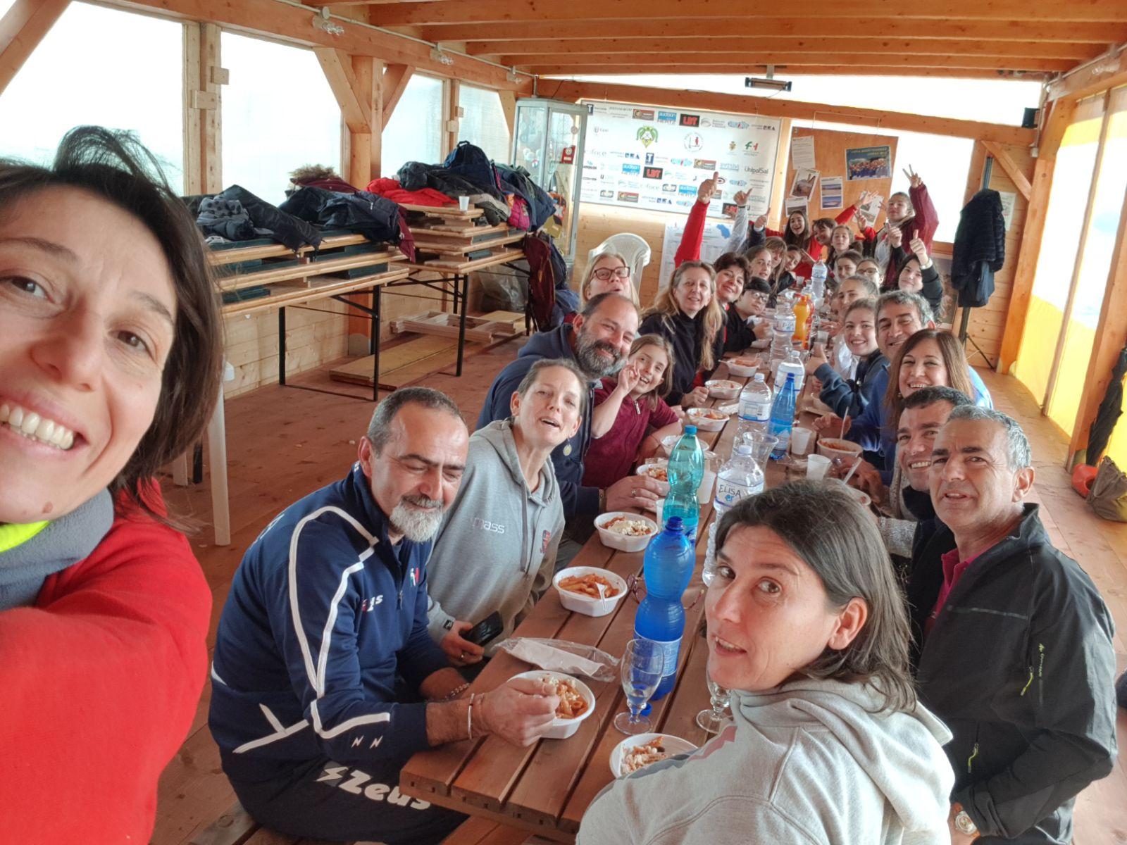 La Comitiva A Pranzo Dopo Le Vittorie ..