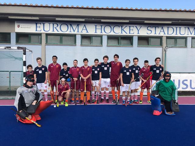 Le Under 16 Di Hc Roma E Genova 80