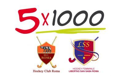 5 Per Mille Per HC Roma E HF Libertas San Saba
