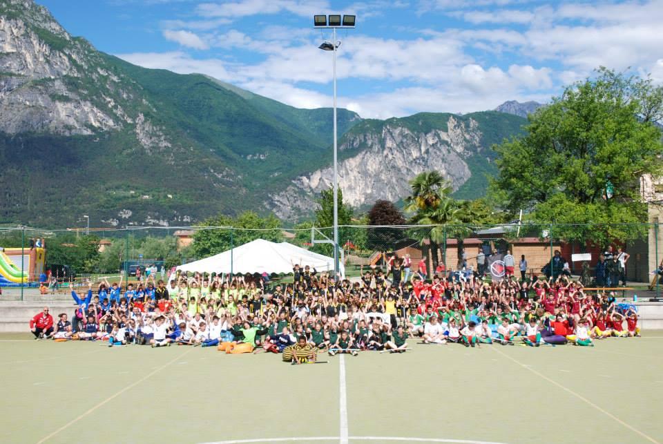 Foto Di Gruppo Per Il Torneo Giovanile Di Riva Del Garda 2015