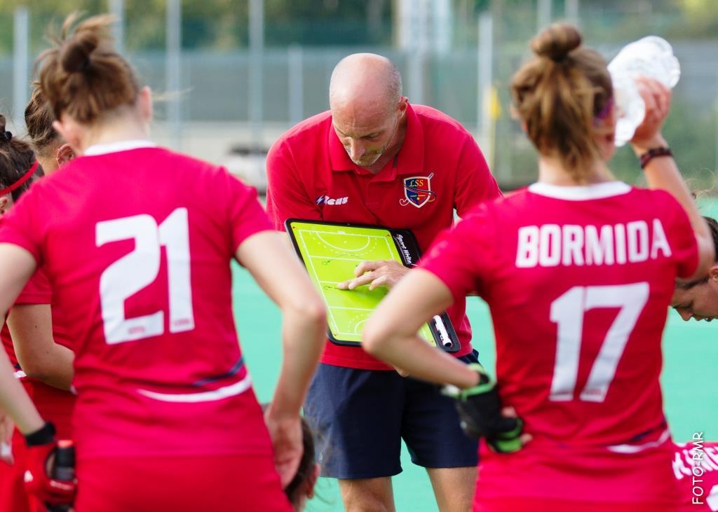 Coach Mongiano Durante L'intervallo