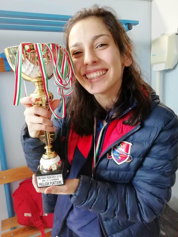 Marta Sponta Miglior Portiere Alle Finali Indoor Di Bra